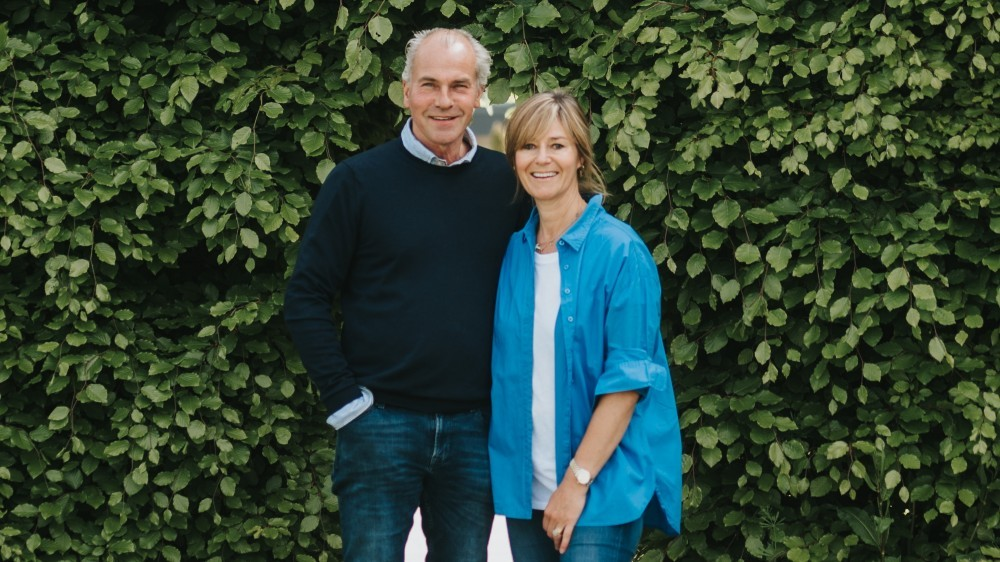 Andy and Louise Coulbeck, founders and directors of JCS Fish