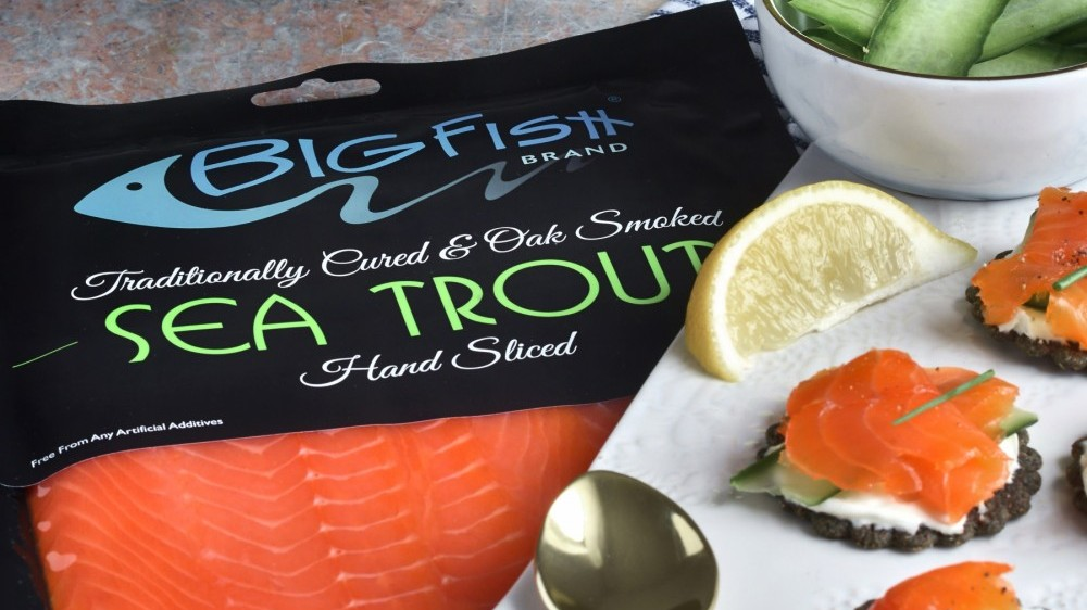 Smoked trout is a delicious alternative to smoked salmon