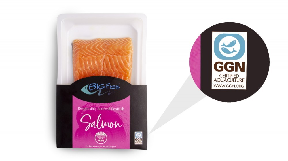 Our BigFish brand was the first to commit to the GGN responsible sourcing standard