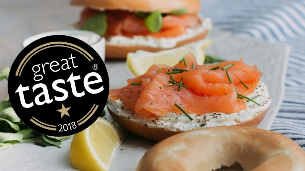 A Great Taste star for our Smoked Salmon
