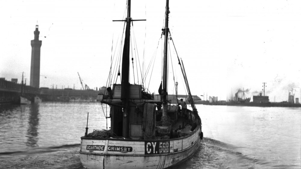 Trawler at Grimsby (picture courtesy Grimsby Telegraph)