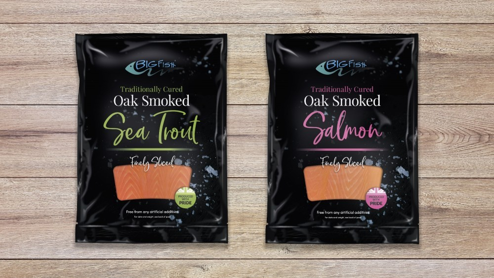 We produce both Smoked Sea Trout and Smoked Salmon