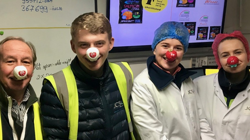 Red Nose Day at JCS Fish!